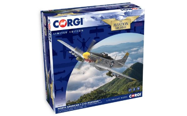 CORGI  AA27702 1/72  North American Mustang USAF 18th FBG  #44-12953 Was that too fast?